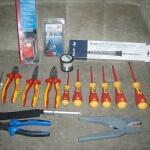 Werkzeugsatz Elektriker - Inhalt