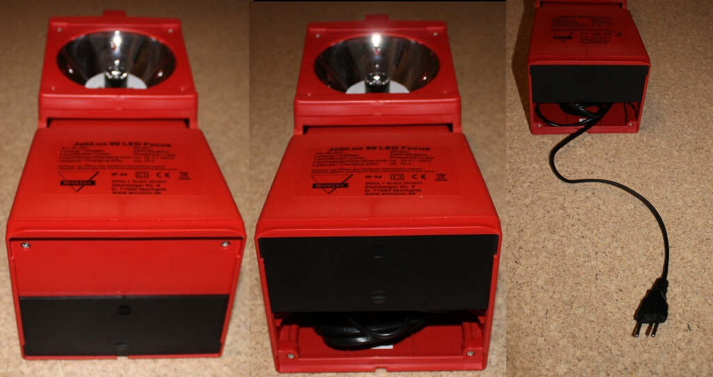 Produkttest: ACCULUX Stand und Positionsleuchte JobLux 90 LED Focus mit Pilotlampe