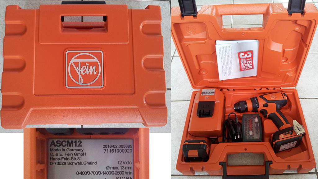 bersichtVerkleinert Produkttest: Fein ASCM 12 C 4-Gang-Akkubohrschrauber