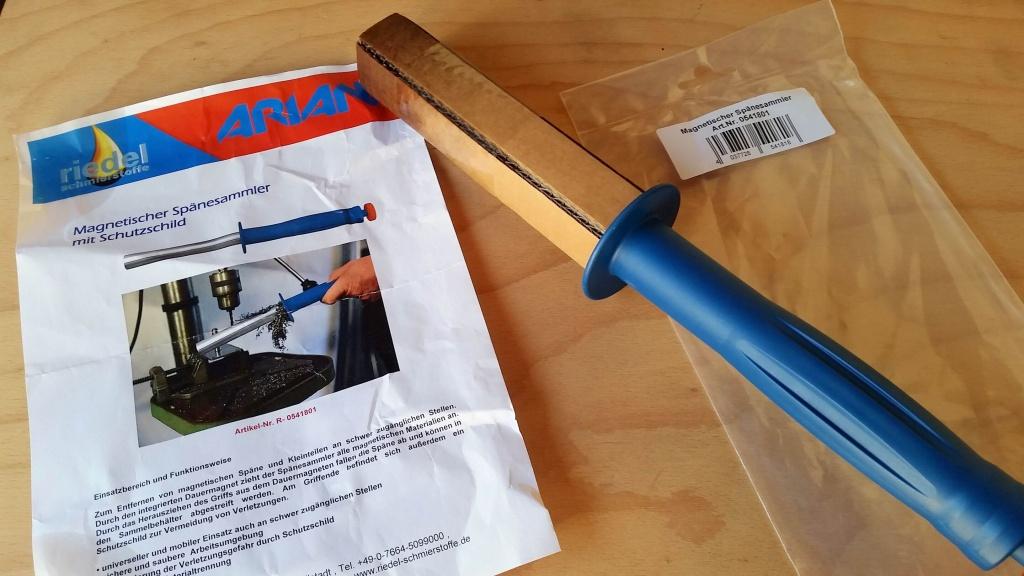 01_Verpackung-e1467715303207 Produkttest: Magnetischer Spänesammler von Ariana