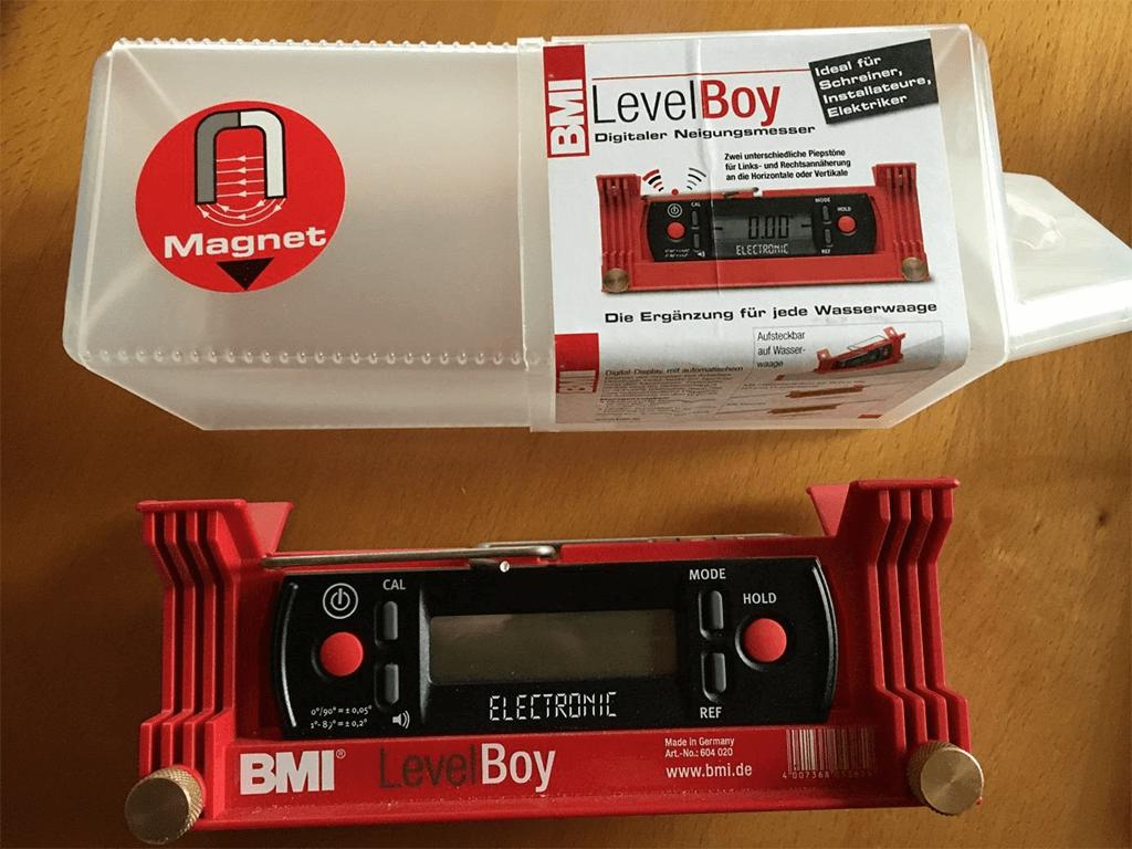 LevelBoy_BMI_1 Produkttest: LevelBoy (elektronische Wasserwaage) von BMI