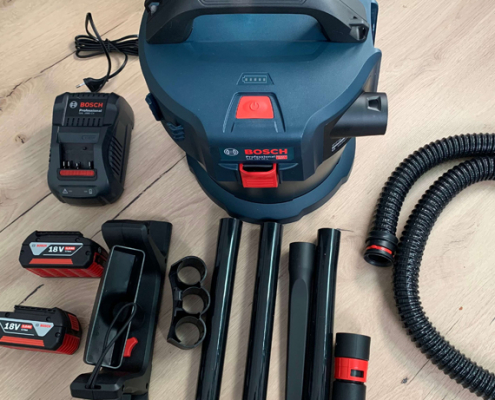 Produkttest: Bosch Nass-/Trockensauger GAS 18V-10L