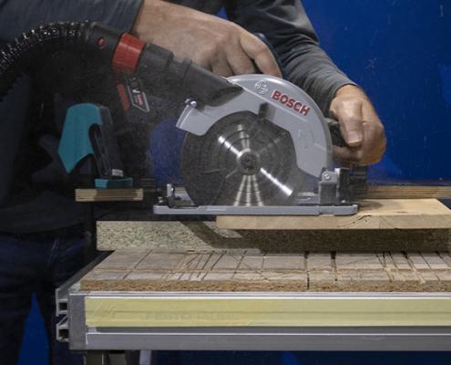Bosch Kreissäge Anwendung