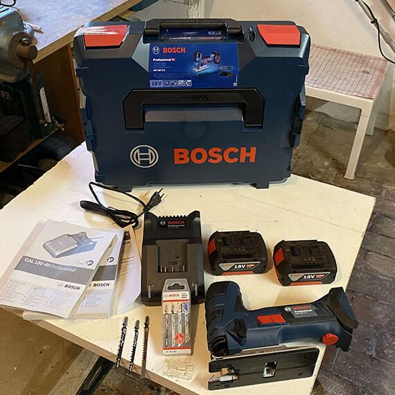 Stichsaege5 Produkttest: Bosch Säbelsäge GSA und Stichsäge GST