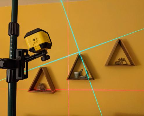 Stanley Linienlaser Cubix Ausmessung