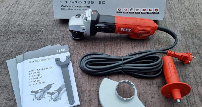 Flex_Lieferumfangsuebersicht-710x375 Produkttest: Flex Winkelschleifer L 13-10 125-EC