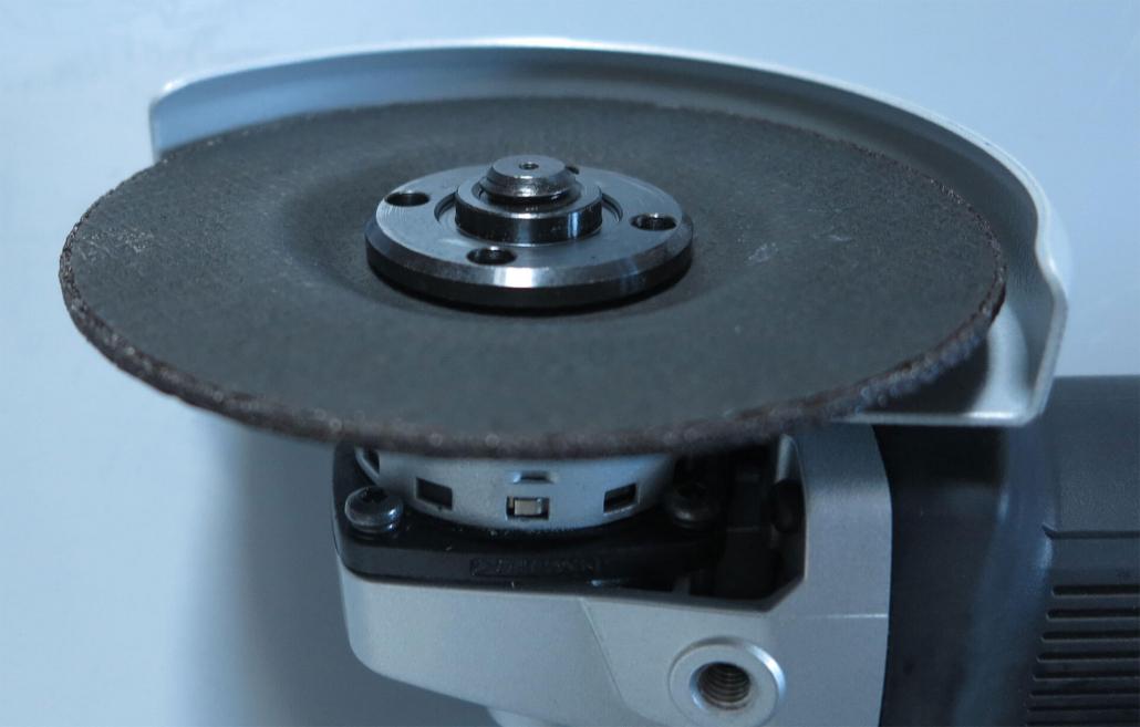 Flex_Spannmutter_Überstand-1030x657 Produkttest: Flex Winkelschleifer L 13-10 125-EC