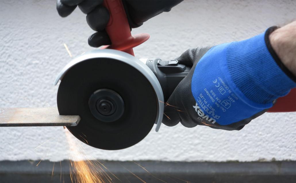 Flex_Trennen-1030x639 Produkttest: Flex Winkelschleifer L 13-10 125-EC