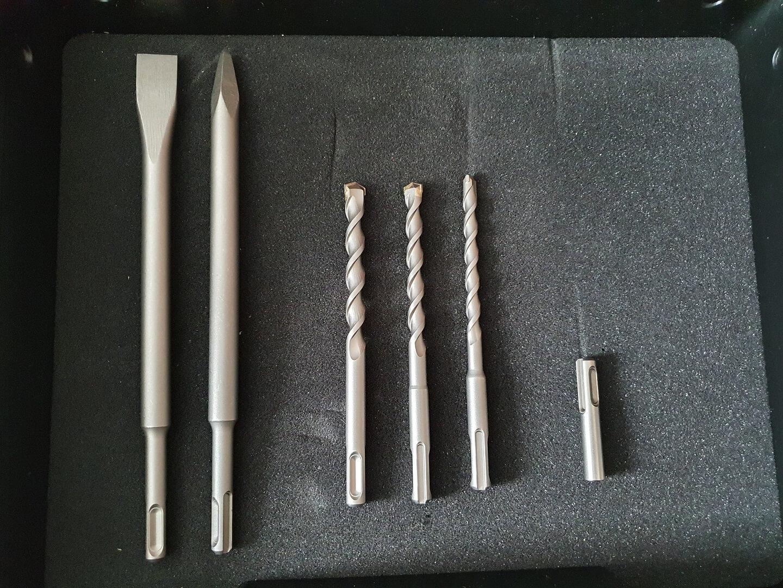 11 Produkttest: Einhell Akku-Bohrhammer HEROCCO
